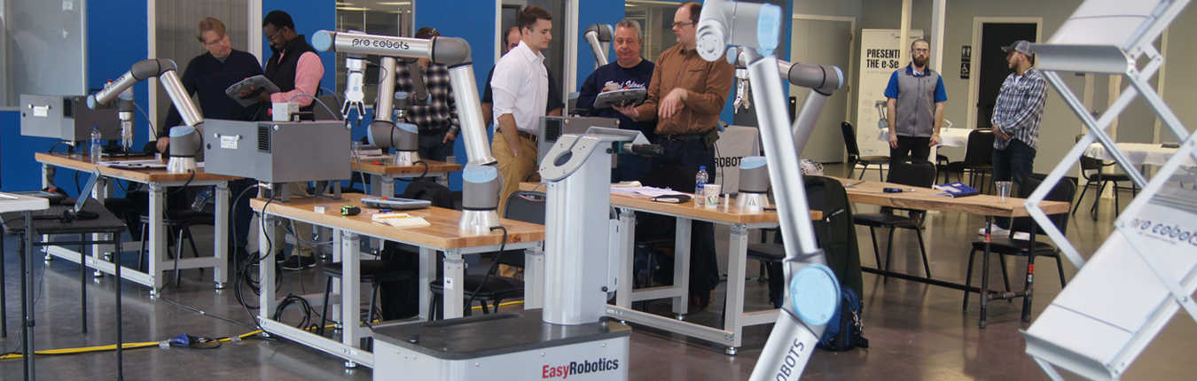 ProCobots Training with easy robotics